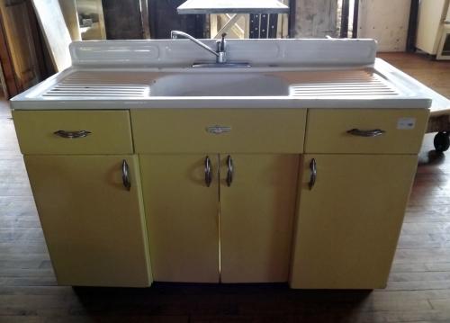 Vintage double drainboard sink salvage one - Vintage kitchen cabinets salvage ...