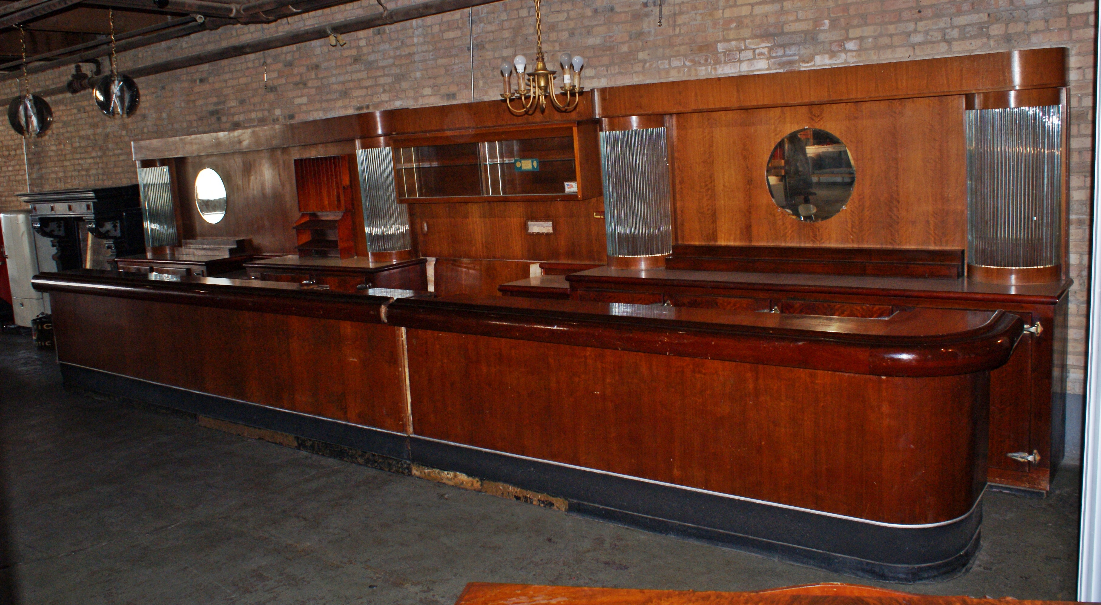 Art Deco Front And Back Bar Salvage One