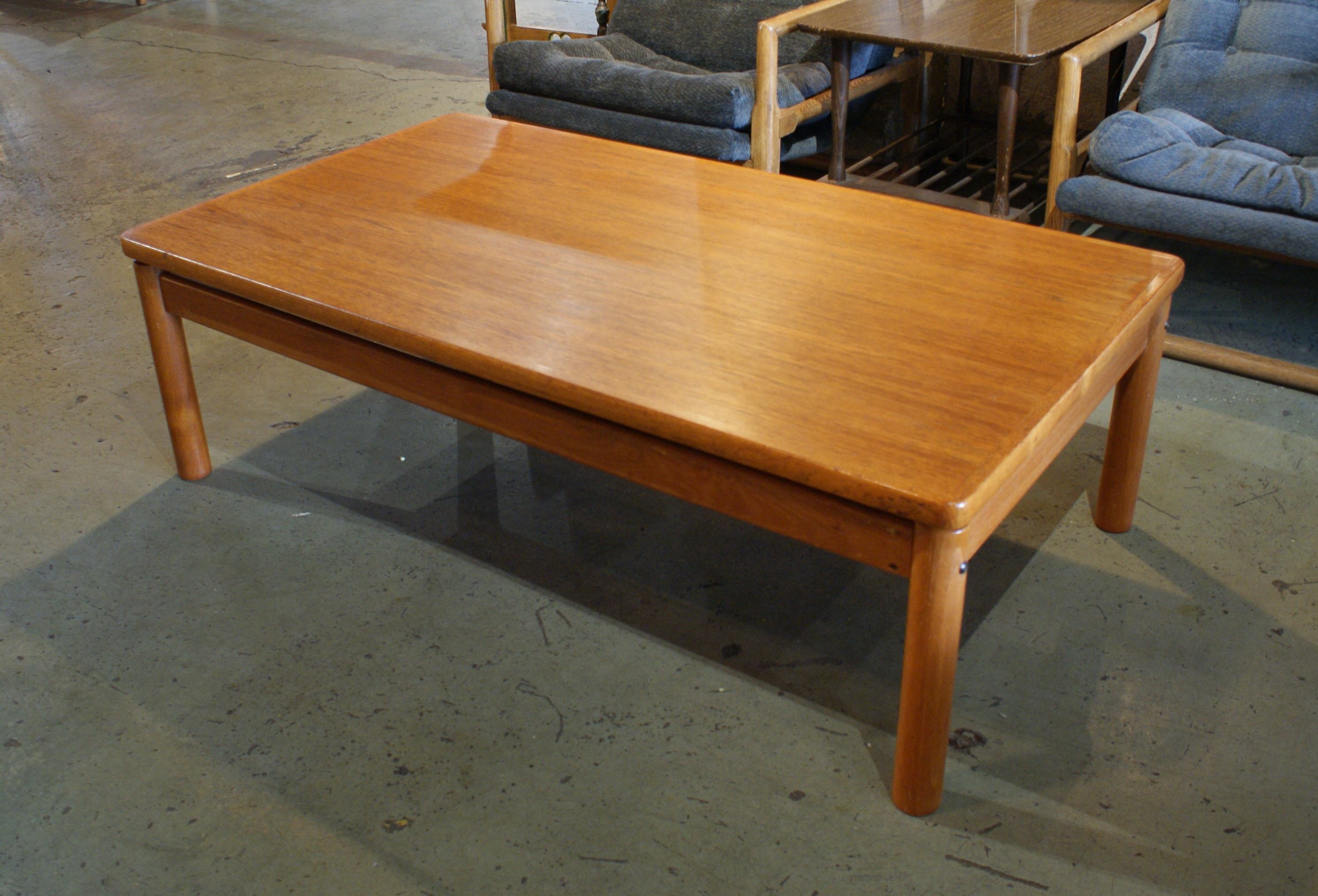 Danish Teak Trioh Coffee Table Salvage One