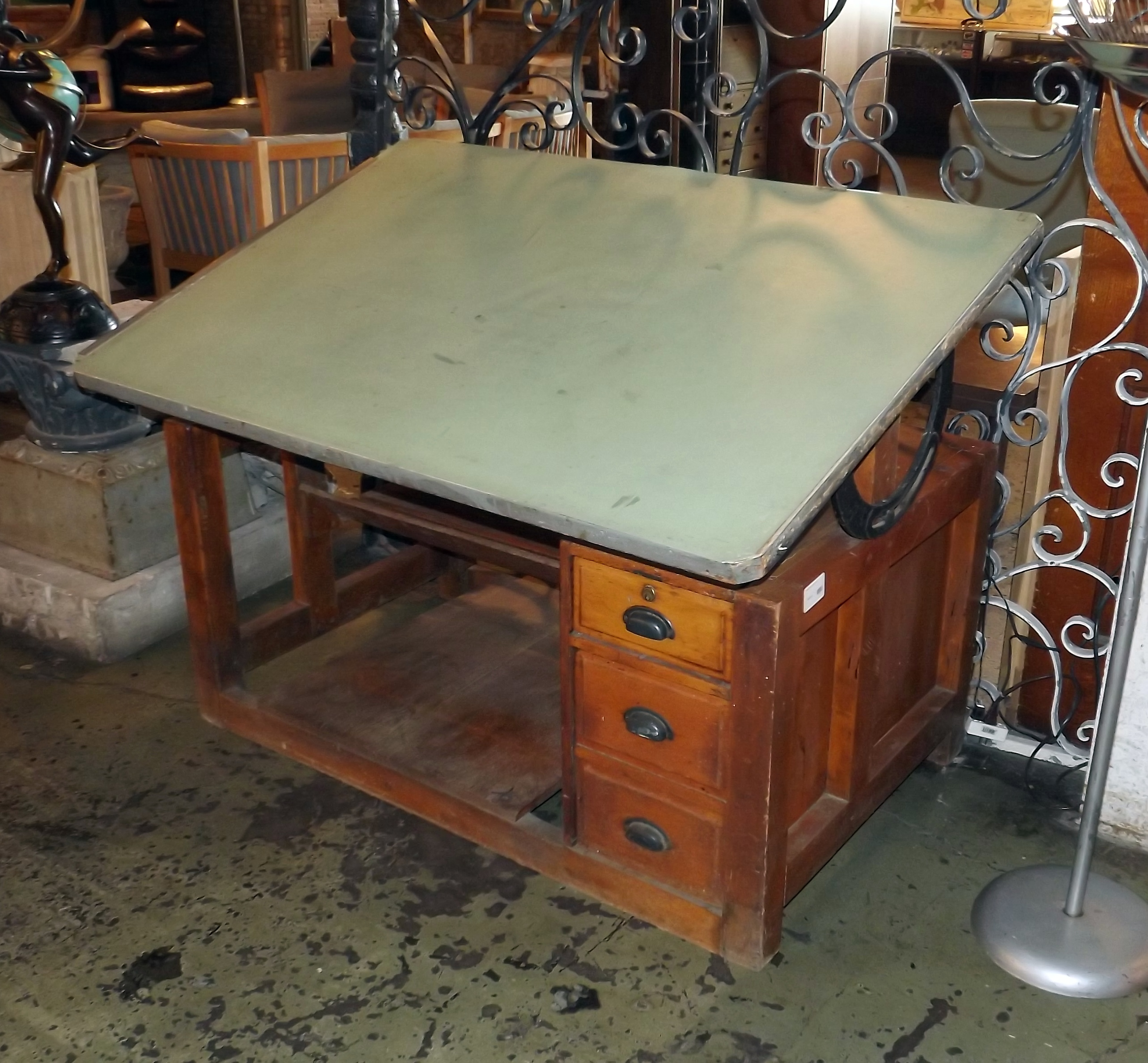 drafting vintage table for sale parts hamilton