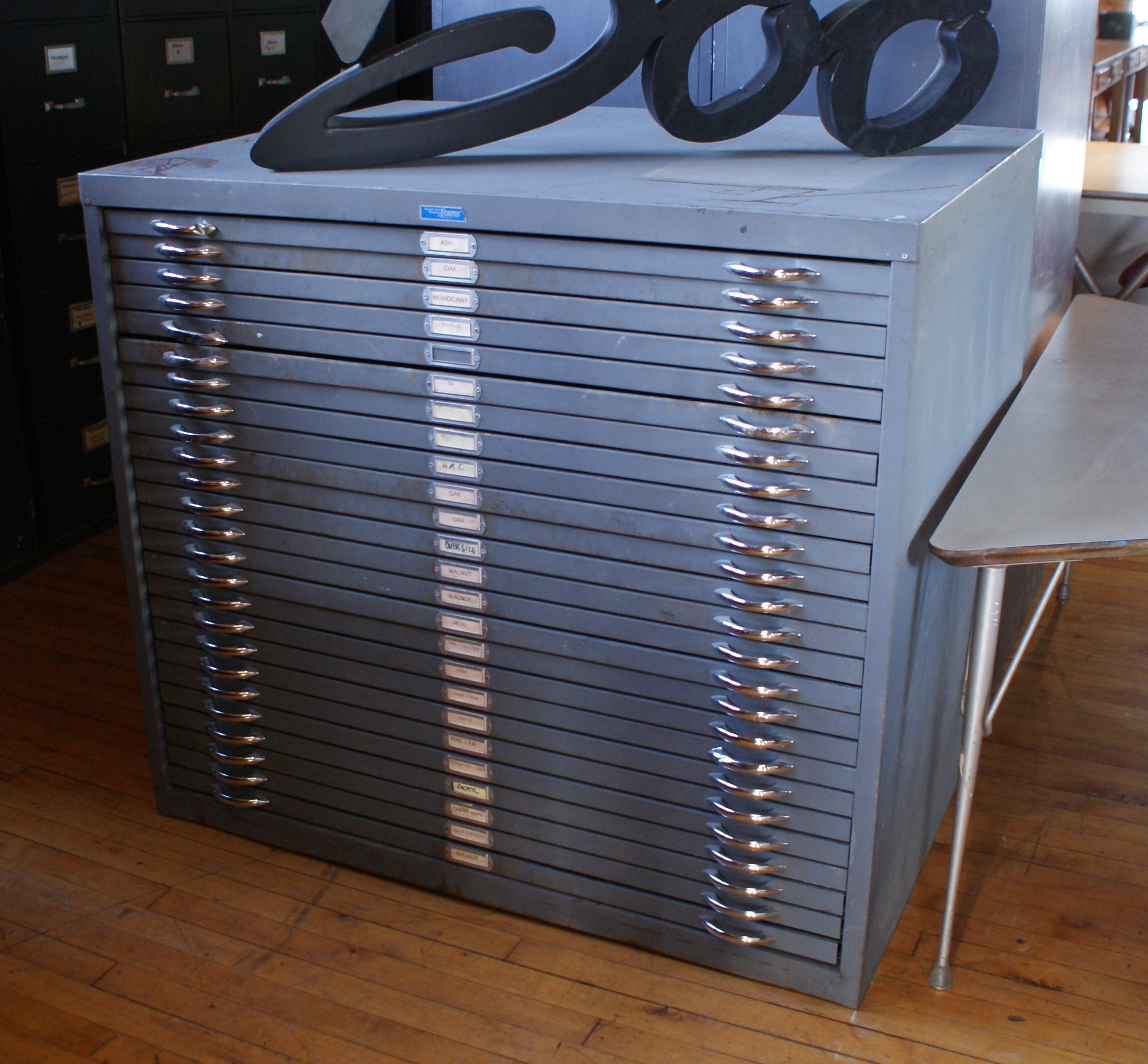 Foster 25 Drawer Flat File