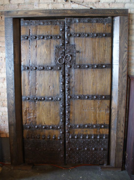 Antique Chinese Gate Doors in Frame - Antique Chinese Gate Doors In Frame – Salvage One
