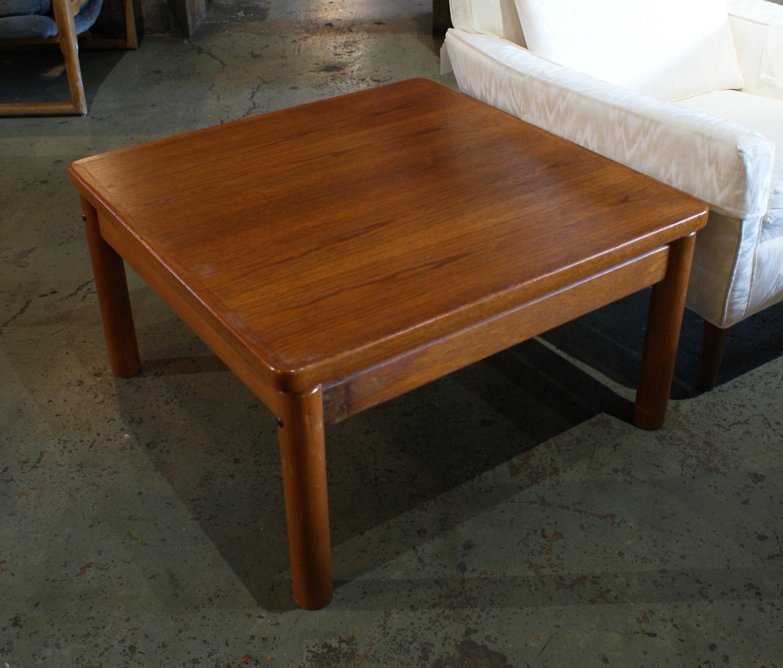 Danish Teak Side Table.Danish Teak Trioh Side Table