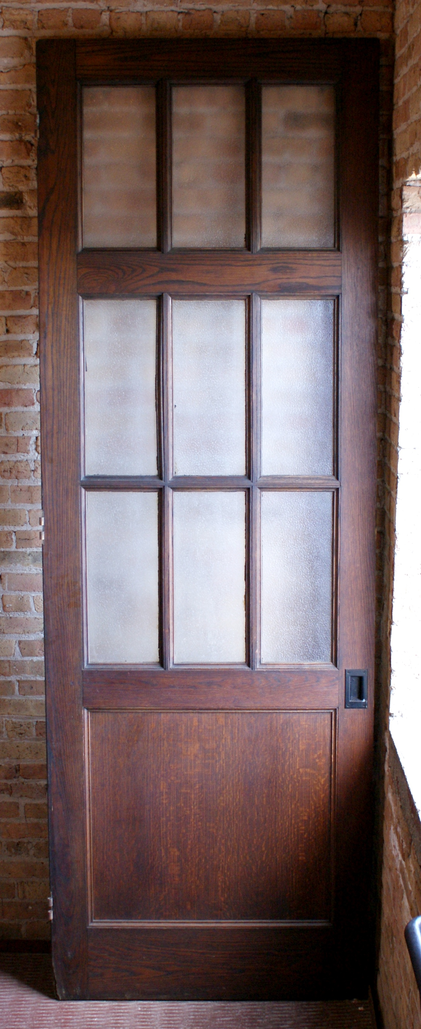 Large 9 Lite Door From HP Church