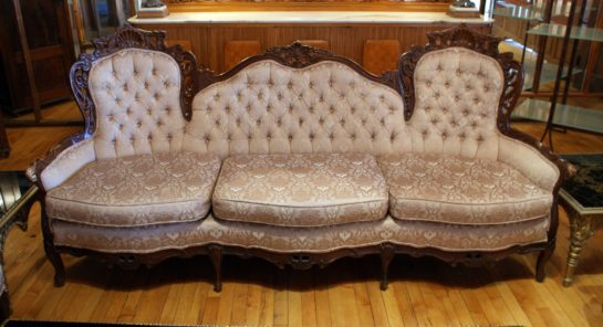 French Provincial Sofa Salvage One