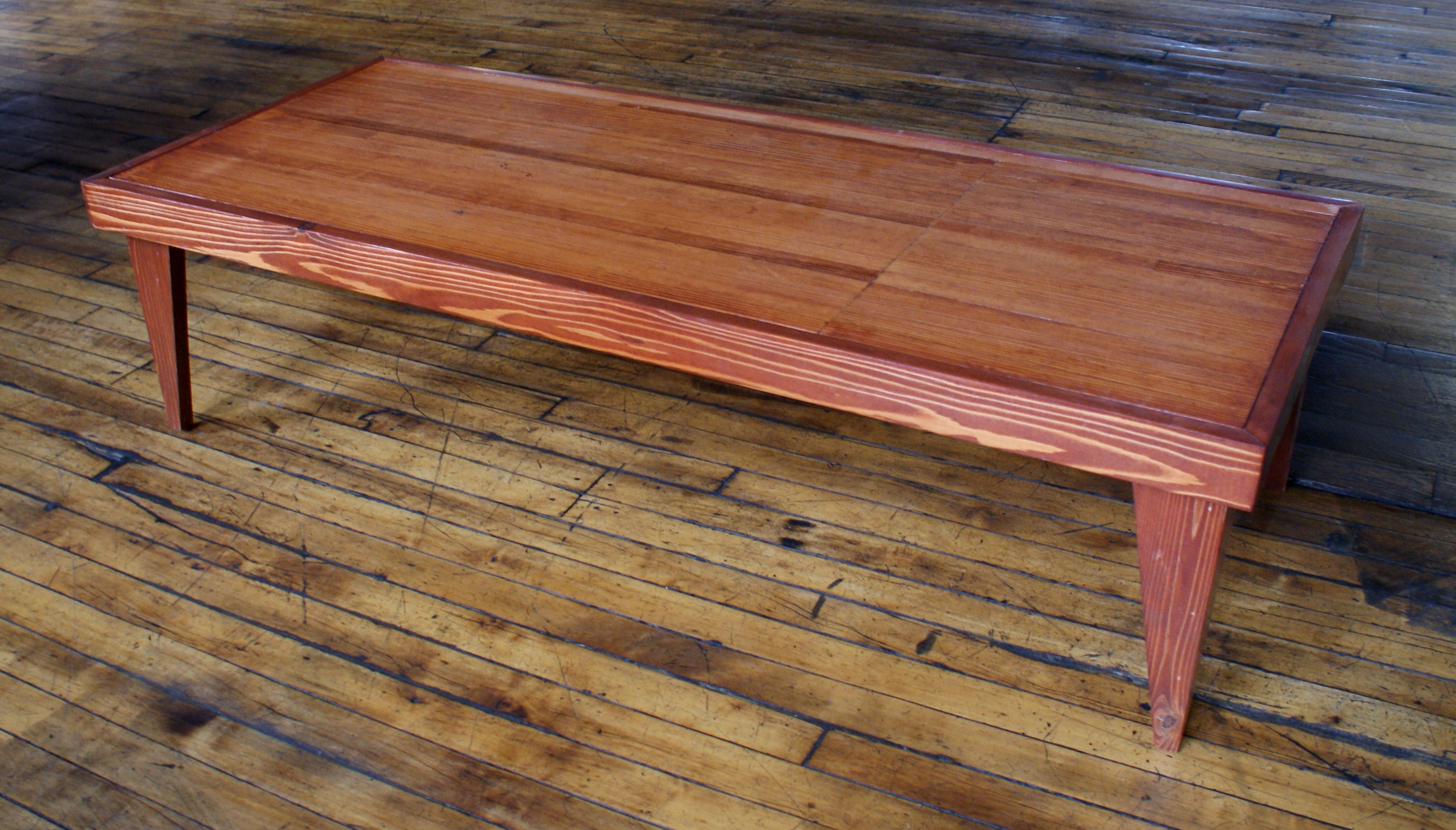 Custom Bowling Alley Lane Coffee Table