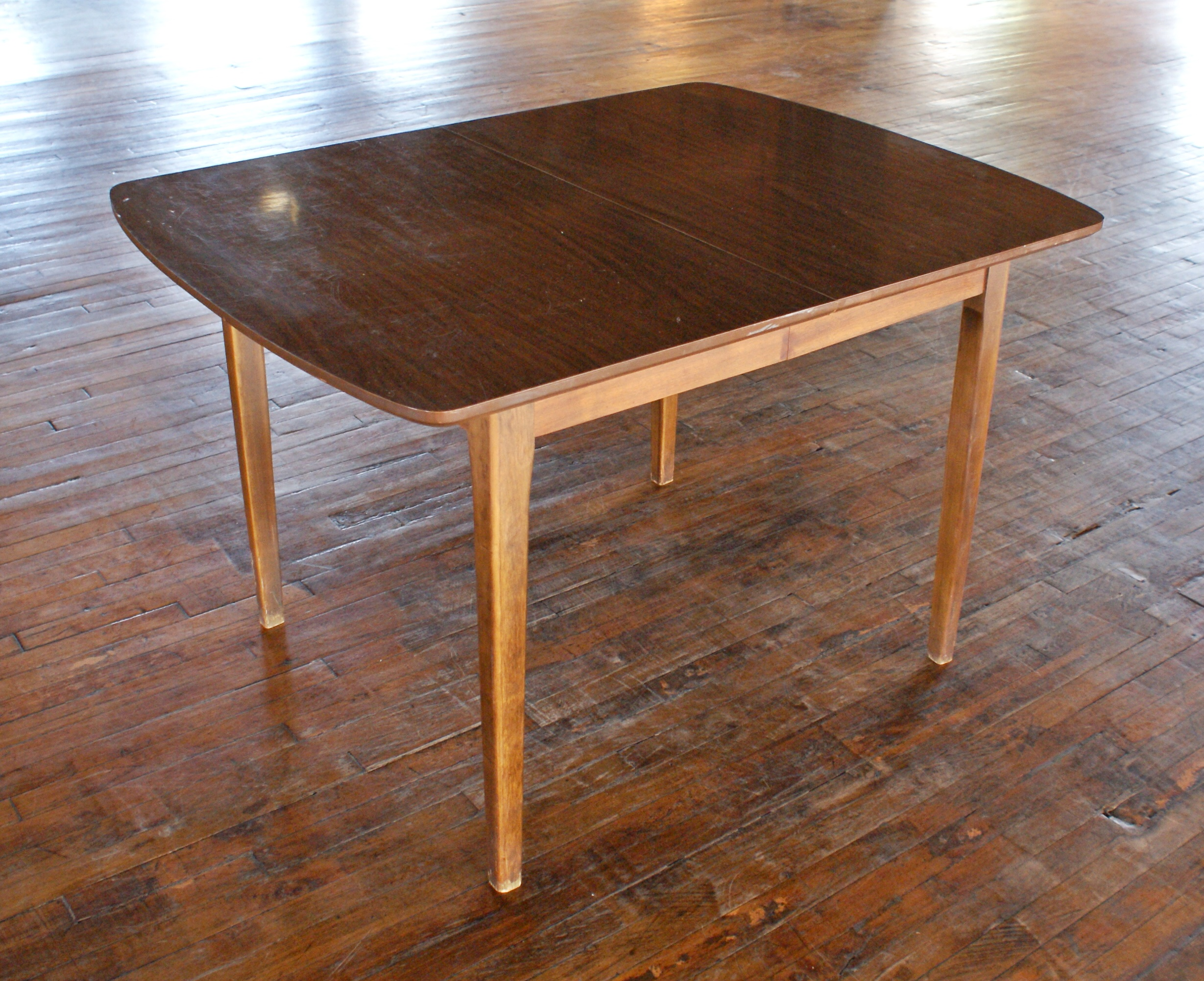 Small MCM Laminate Top Dining Table – Salvage One