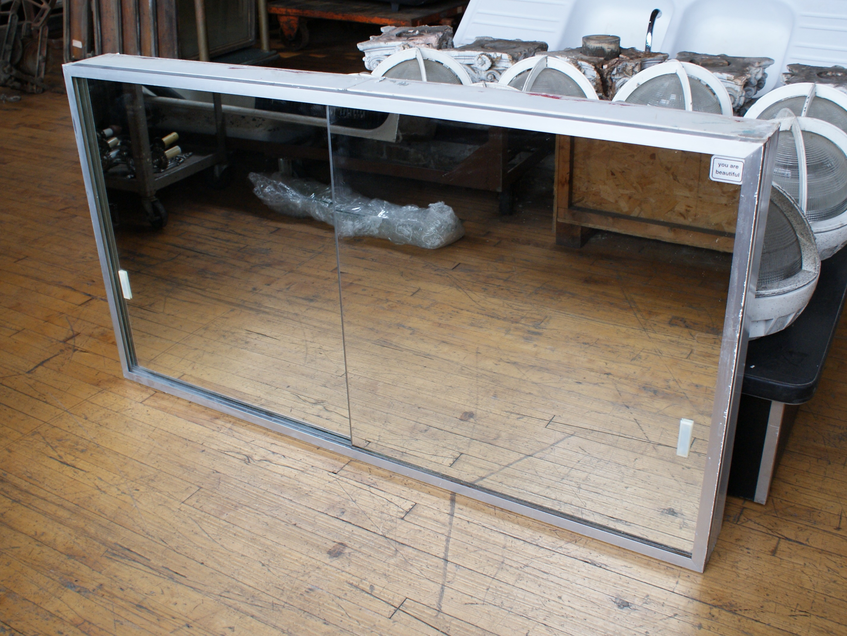 Large Sliding Door Medicine Cabinet From Mies Vdr Building Salvage One