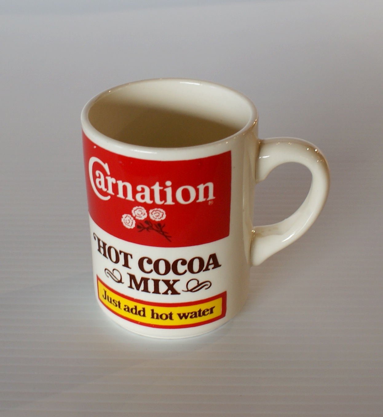 Vintage Carnation Hot Cocoa Mug Salvage One